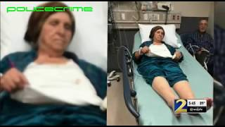 Police taser 87 year old woman for cutting flowers