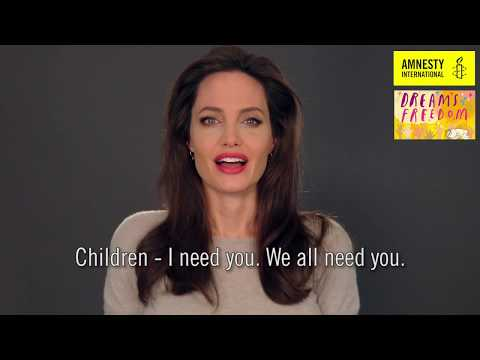 Angelina Jolie's message for the next generation
