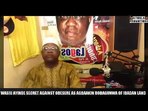 Wasiu Ayinde K1 Secret Against Pk1st Obesere As Agbaakin Bobagunwa Of Ibadan Land
