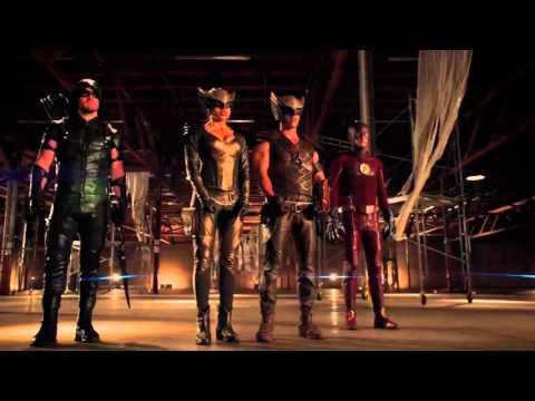 Flash & Green Arrow & Hawkgirl & Hawkman vs Vandal Savage