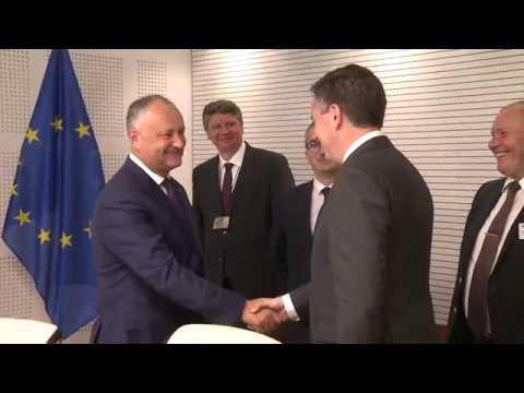 Президент Республики Молдова провел встречу с Председателем комиссии Европейского Парламента по внешним связям