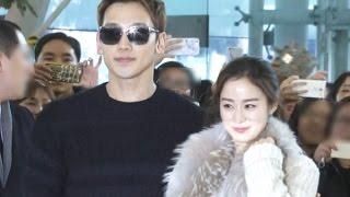 Video #비-#김태희, '한류 커플의 신혼 여행 출국길' MP3, 3GP, MP4, WEBM, AVI, FLV Maret 2019