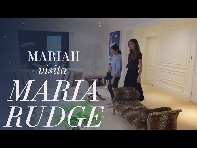 Visita na casa da Maria Rudge! - Mariah Bernardes