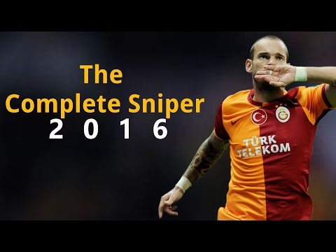 Wesley Sneijder - The Complete Sniper | 2016 HD