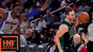Boston Celtics vs Detroit Pistons Full Game Highlights | 10.27.2018, NBA Season