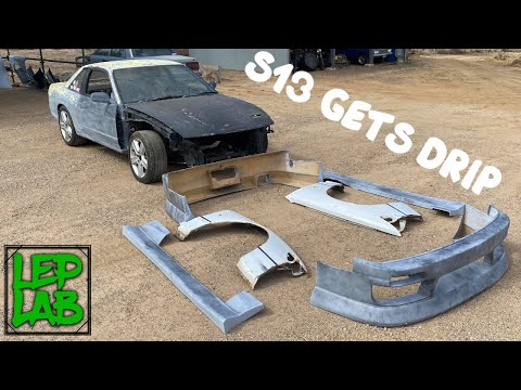 S13 Drift Build Part 6: Looking more like a car!