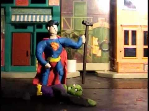 Superman claymation (видео)
