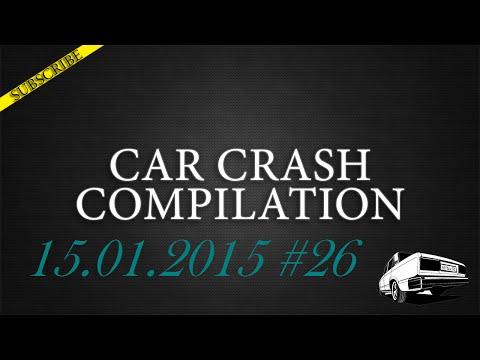 Car crash compilation #26 | Подборка аварий 15.01.2015