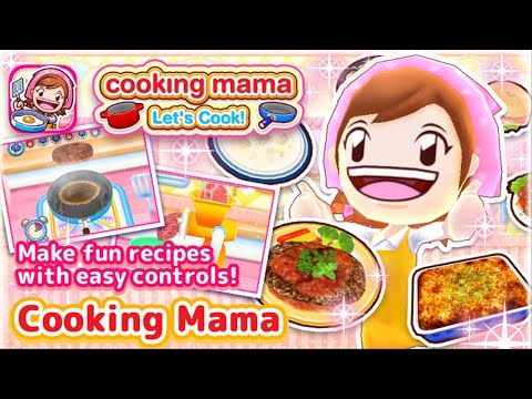 COOKING MAMA Let's Cook iOS / Android Gameplay Trailer