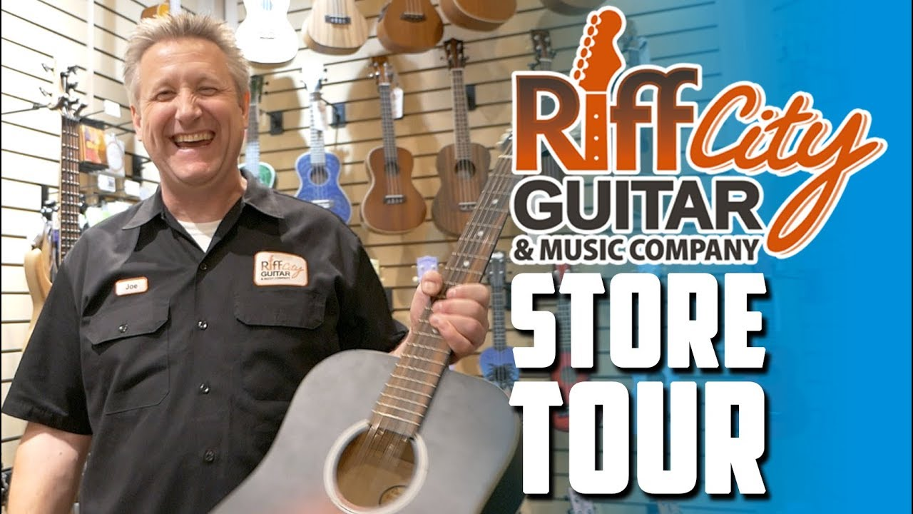 Riff City Guitar – New Hope Store Tour!