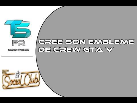 comment modifier embleme crew