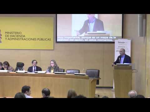 Presentación Estudio del Tercer Sector de Acción Social (Parte II). Mesa de debate I.