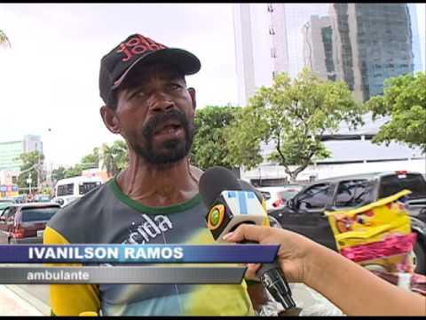 Vendedores ambulantes da Avenida Agamenon Magalhães se sentem prejudicados com a violência