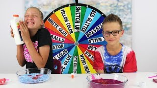 Video Mystery Wheel of Slime Switch Up Challenge! MP3, 3GP, MP4, WEBM, AVI, FLV Agustus 2018
