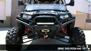 4. 2011 Polaris Ranger RZR 4 800 EPS Robby Gordon LE  - Ride...