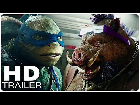 TEENAGE MUTANT NINJA TURTLES 2 Trailer | Out of the Shadows 2016