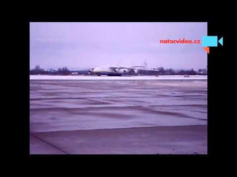 An-225 Mrije v Ostravě