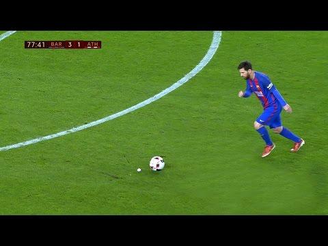 Lionel Messi vs Athletic Bilbao (Home) 16-17 HD 1080i (видео)