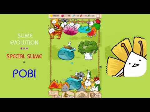 "Slime Evolution - How To Get Special Slime "" Pobi """