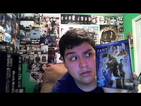 Fantastic Four 2015 Blu Ray Unboxing (Giveaway)