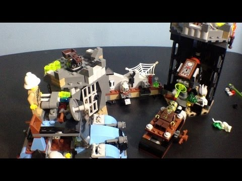 Lego Monster Fighters Set 9466 The Crazy Scientist & His Monster Review