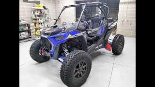 9. 2018 POLARIS RZR XP TURBO S WALKAROUND