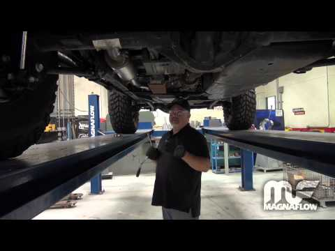 Jeep Wrangler Install – MagnaFlow Exhaust Part #15237