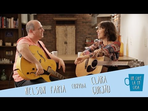 Um Café Lá em Casa com Clara Gurjão e Nelson Faria