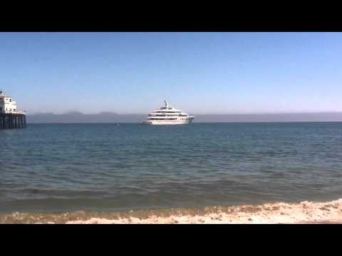 Rick Caruso's Yatch in Malibu Bay