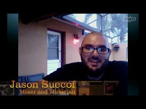 Producer/Mixer/Musician Jason Suecof – Pensado's Place #135