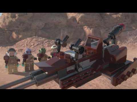 Конструктор Боевой набор Повстанцев - LEGO STAR WARS - фото № 6