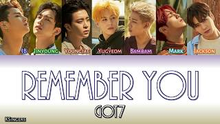 GOT7 - Remember You | Sub (Han - Rom - English) Color Coded Lyrics
