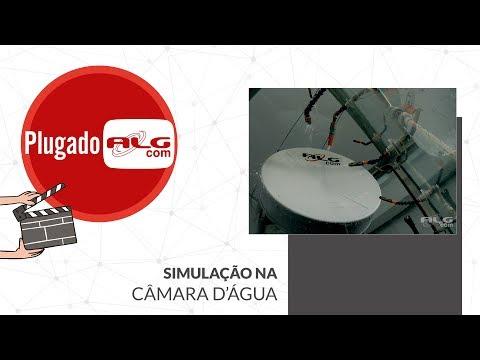 Simulação na Câmara D'Água | Antenas