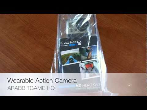 Go Pro HD Hero 960 Wearable Camera [Unboxing]