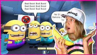 NO BANANAS for the MINIONS???