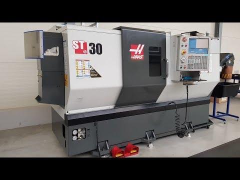 Токарный станок с ЧПУ (CNC) HAAS ST-30 2013