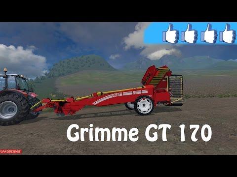 Grimme GT 170 Bunker Trailer v0.9