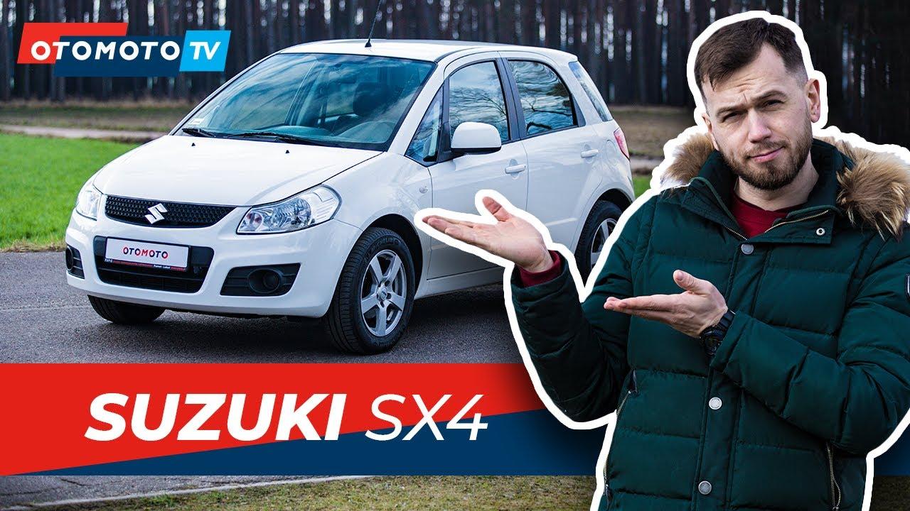 SUZUKI SX 4 - czy SUV powinien być ładny?
