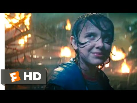 Godzilla: King of the Monsters (2019) - Ghidorah Destroys Boston Scene (7/10)   Movieclips