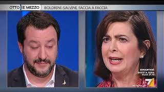 Video Otto e mezzo - Boldrini - Salvini, faccia a faccia (Puntata 13/02/2018) MP3, 3GP, MP4, WEBM, AVI, FLV Juni 2018
