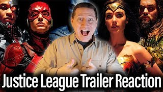 Video Justice League Trailer Reaction And Review MP3, 3GP, MP4, WEBM, AVI, FLV Juni 2018
