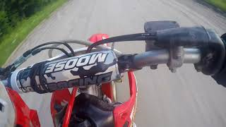 2. CRF150R TOP SPEED RUN!