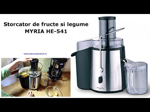 Storcator de fructe si legume MYRIA HE-541