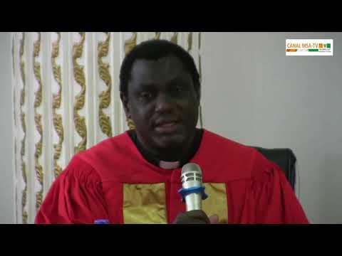 COTE D'IVOIRE: CEREMONIE DE DEDICACE DU LIVRE DANS UNE GRANDE PHOPHETIE BIBLIQUE DU PROPHETE KONAN TIMOTHEE