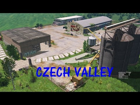 Czech Valley Map by Coufy Guelle