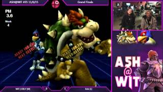 WIT | ORLY (Bowser, Falcon, Sonic) vs Kels (Falcon, Fox) – ASH@WIT  35 PM Grand Finals