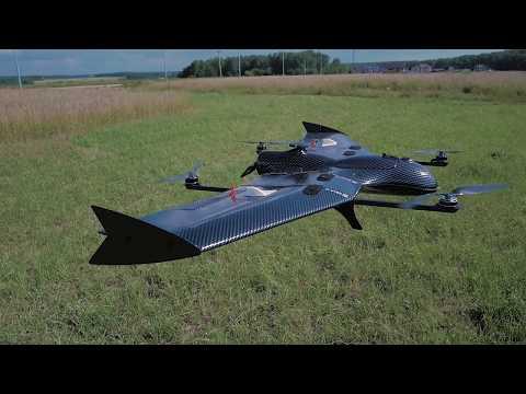 Самолет с вертикальным взлетом VolJet VTOL X5 PRO