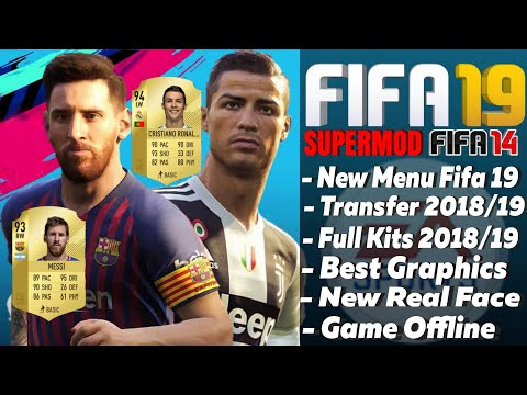 Download Fifa 19 Mod Fifa 14 New Update Kits & Transfer Squad 2018 - 2019 | Mobile Android Offline