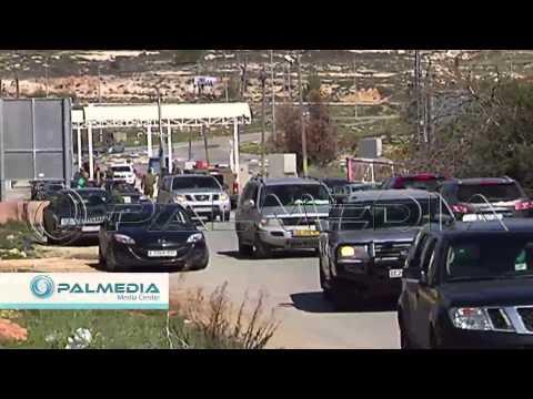 فيديو قوات الاحتلال تعتدي على عناصر من الشرطة الفلسطينية