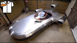 Fabricating a Metal Landspeeder that DRIVES